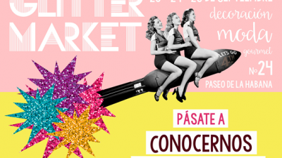 GLITTER MARKET, EL POP UP MÁS BRILLANTE DE MADRID